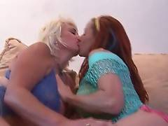 Two mature chick Shannon Kelly and Dana Hayes get very horny.