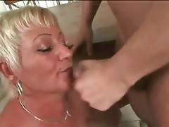 Tough Guy Bangs Nasty Cock Hungry Granny 2