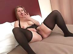 Cock Hungry Granny Magda Warms Herself Up 1