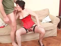 Slutty Granny Enjoys Good Fucking 1