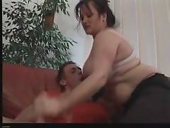 Curvaceous granny can`t wait to get her pussy pounded.